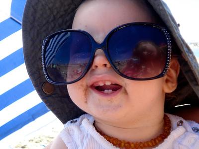 Sonnenschutz- Baby