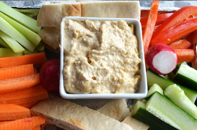 Homemade Hummus with Vegetable Crudites November 4, 2013 Cook 0 ...